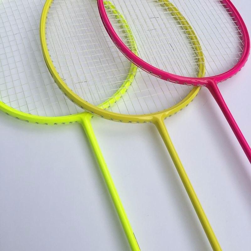 Schlägersportarten Badminton Badminton Schläger Carbon Badmintonschläger Sport 7u 67g 28lbs Verschiedene Stile