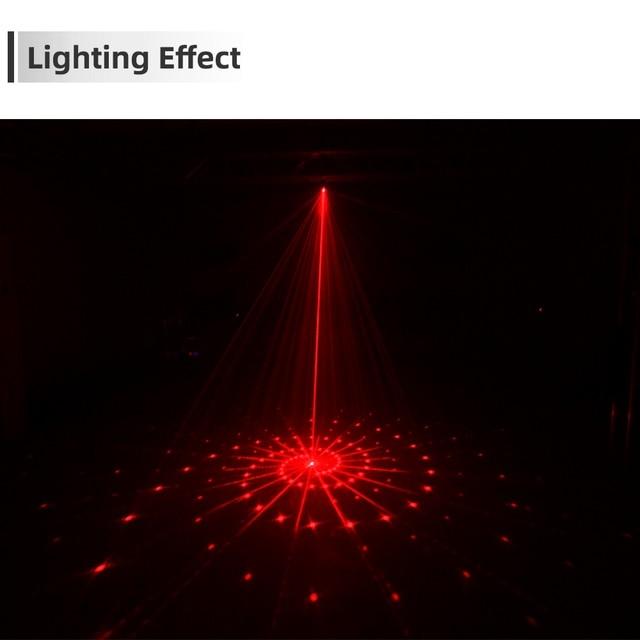 60 Patterns RGB LED Disco Light 5V USB Recharge RGB Laser Projection Lamp Stage Lighting Show for Home Party KTV DJ Dance Floor 1