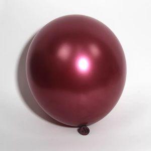 Image 3 - 50 ชิ้น/ถุง 5/10/12 นิ้ว Burgundy Pearl Latex Helium บอลลูนสีแดงพรรค Globos ทารกอาบน้ำเจ้าสาวงานแต่งงานวันเกิดตกแต่ง