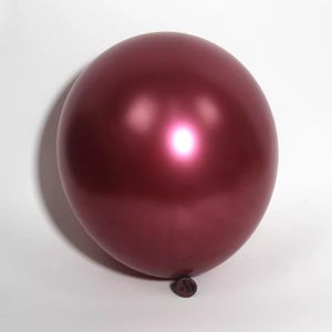Image 3 - 50 sztuk/worek 5/10/12 calowy bordowy perła lateksowe baloniki helowe wino czerwone Party Globos baby shower dla nowożeńców dekoracje ślubne i urodzinowe
