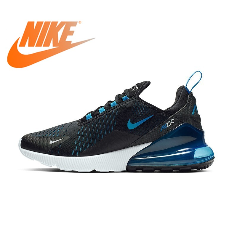 Original authentique Nike Air Max 270 Mans chaussures de course respirant baskets Sport confortable en plein Air 2019 nouveauté AH8050-020
