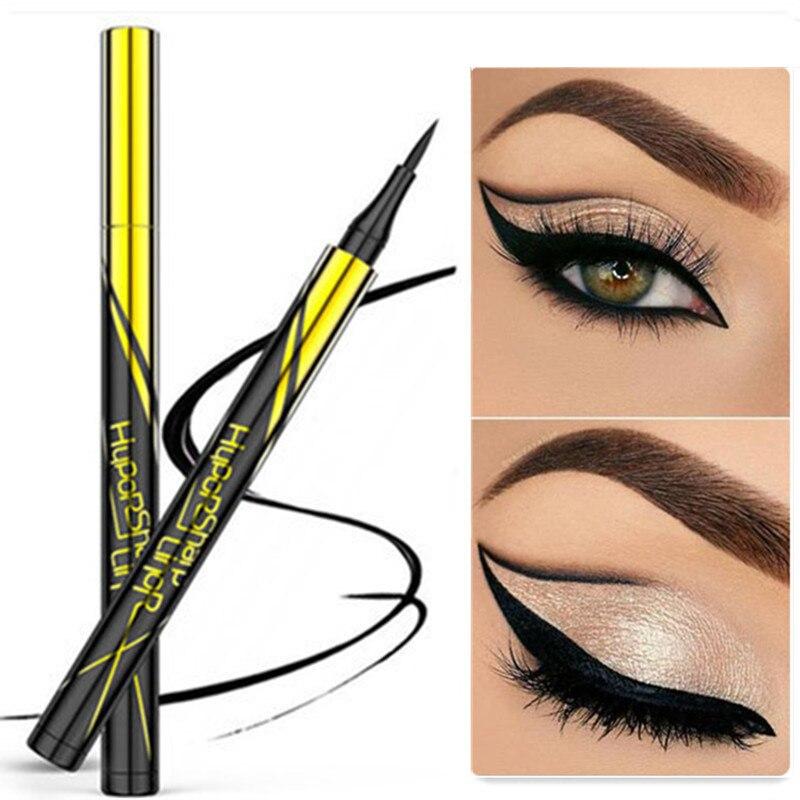 Waterproof Black Liquid Eyeliner Pencil Big Eyes Makeup Long-lasting Eye Liner Pen Make Up Smooth Fast Dry Cat Eye Cosmetic Tool