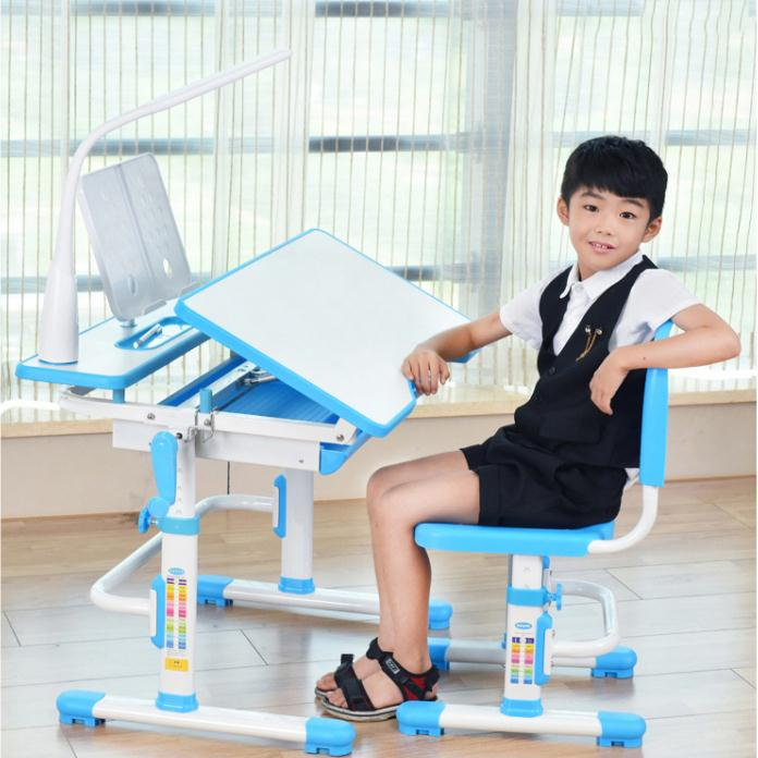 Kids seat adjustable sitting position schoolboy without pedals plastic study chair economical writing chair corrective posture
