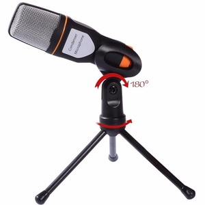 Image 2 - TGETH SF 666 Microphone 3.5mm Jack Wired With Stand Tripod Handheld Mic For PC Chatting Singing Karaoke Laptop