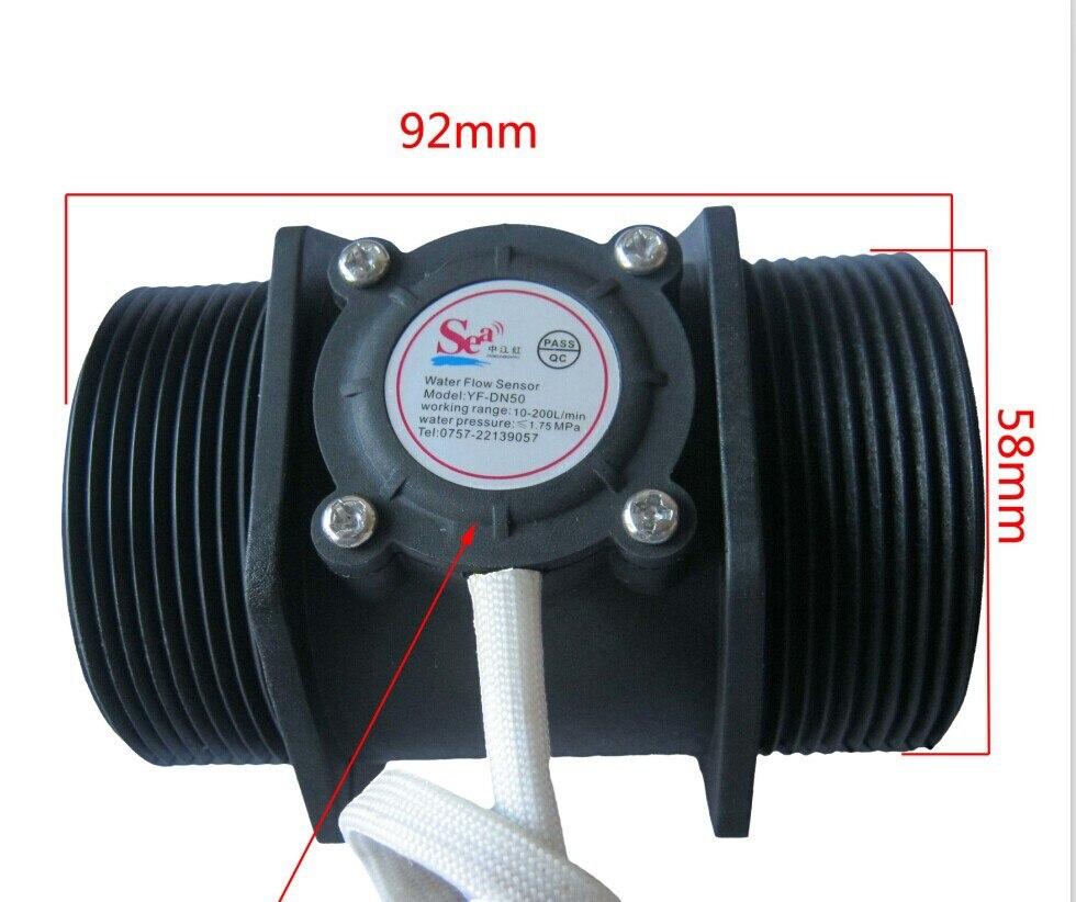 Buy g 2 inch water flow flowmeter for Gartenpool 10 meter