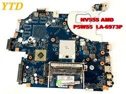 Oryginalny do projektora ACER NV55S laptopa płyty głównej płyta główna w NV55S P5WS5 LA 6973P testowane dobry darmo wysyłka w Płyty główne do laptopów od Komputer i biuro na