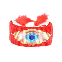 Shinus 2019 Evil Eye Bracelet For Women Bileklik Perles Miyuki Bracelets 3pcs/lot Jewelry Fashion Pulseras Mujer Moda Handmade