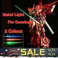 3 cor 2016 para kit modelo gundam bandai mg 1/100 de metal leve verde/vermelho/azul Conjunto Sabre Pode Corrigir 1/6 Figura de Ação Livre grátis