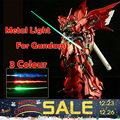 3Colour 2016 For Bandai Gundam Model Kit MG 1/100 Metal Light green/ red/ blue Saber Set Can Fix 1/6 Action Figure Free shipping