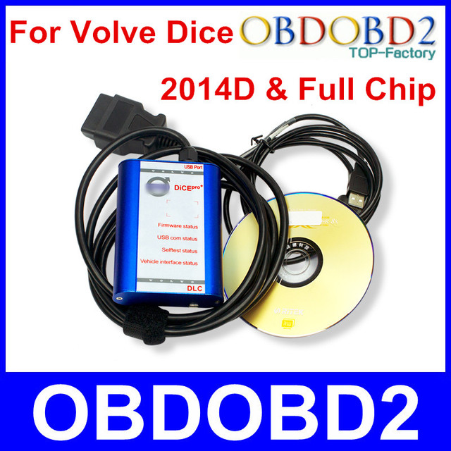 Factory Price For Volvo Dice Pro Diangostic Scanner 2014D Support Multi-Language Firmware Update & Self-Test For Volvo Vida Dice