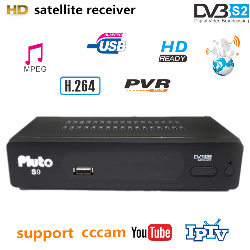 ∞Vmade DVB-S2 Satellite Receiver Digital TV Box HD DVB S2 pluto S9