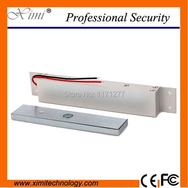 Sturdiness embedded electromagnetic lock 280kg(600Lbs) with door position detection output out12V power to lock electronic lock new 280kg 600lbs magnetic lock without door position detection output for fire exit door 280kg embedded electromagnetic lock