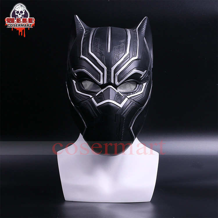 2017 New Captain America Helmet Black Panther Helmet  Civil War Cosplay Mask  Halloween Party Prop (7)