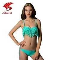 Brésilienne Gland Maillots De Bain Push Up Bikini Marque Femmes Bikini Set Dames Sexy Fringe Maillot de Bain Femmes Maillot De Bain Femme AL18004