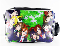 Free shipping Anime Top LoveLive! cos printing Minami Kotori Sonoda Umi All printed Single shoulder ramp Handbags PU schoolbag