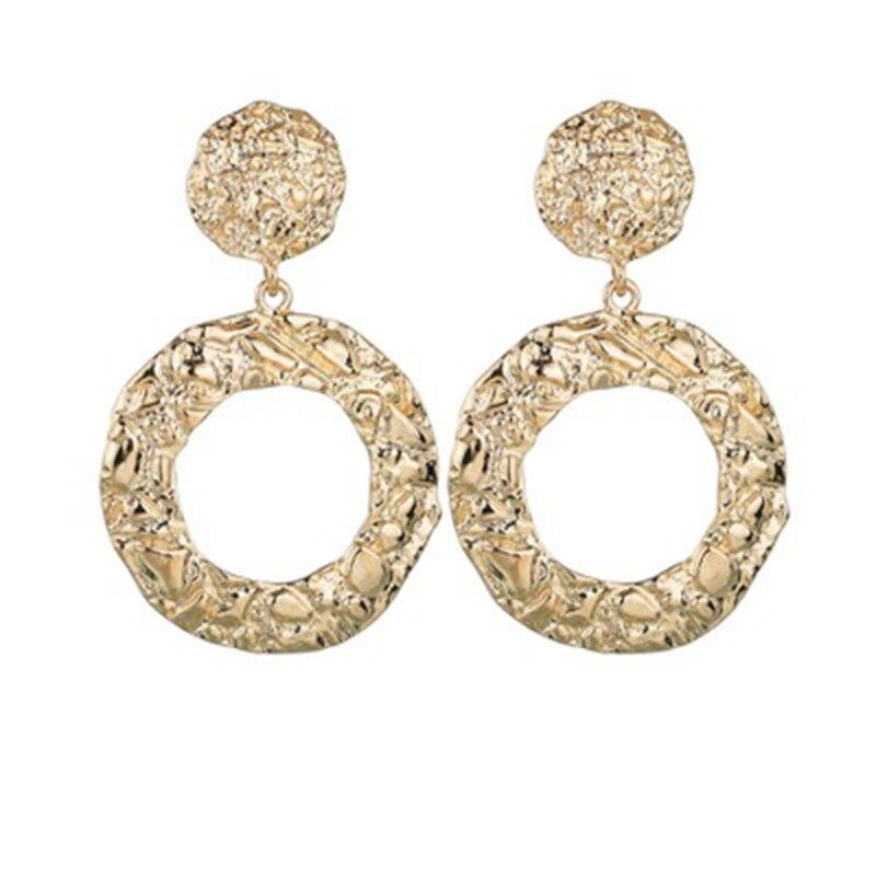 2019 Women Earring Trendy Circle Earrings Fashion Jewelry Geometric Statement Earings  Hanging whokesale WD29