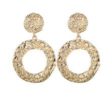 2019 Women Earring Trendy Circle Earrings Fashion Jewelry Geometric Statement Earings  Hanging whokesale WD29