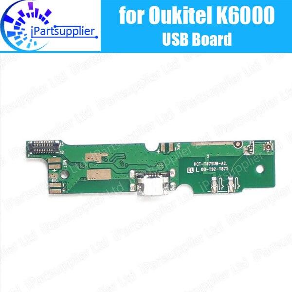 Oukitel K6000 usb conseil 100% Original Nouveau pour usb carte de charge de prise Accessoires de Remplacement pour Oukitel K6000