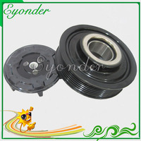AC A/C Air Conditioning Compressor Electromagnetic Magnetic Clutch Pulley Set for Denso for Volkswagen VW MAGOTAN 1.8 1.8L BYJ