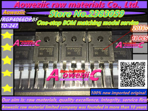 Image 3 - Aoweziic   2017+ 100% new imported original  IRGP4066DPBF  IRGP4066D  TO 247 IGBT power transistor 90A 600V