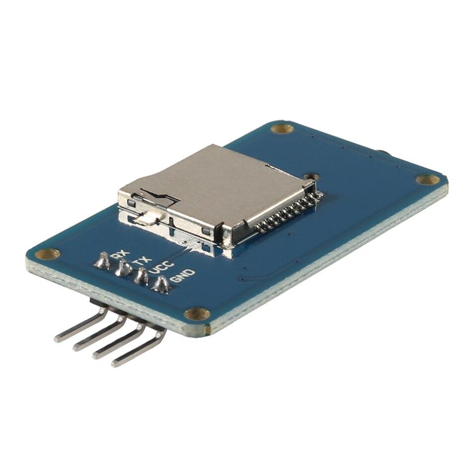 YX5300 MP3 Player Module Voice Serial Port Control Module With Card Slot for Arduino Compatible SCM & DIY Kits Module Board Pakistan