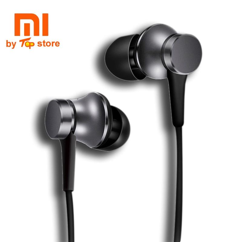 Auriculares originales Xiaomi Xiomi Youth Version in-ear piston 3 con micrófono cable Control auriculares para MI iphone fone de ouvido