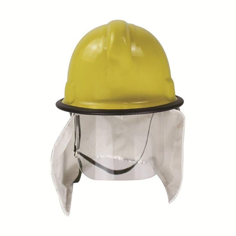 Resgate Bombeiro Capacete de Segurança Cap Chapéu CAPF Óculos de Proteção de Incêndio
