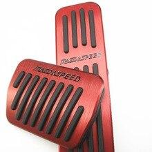 Распродажа для MAZDA MAZDASPEED CX-5 ATENZA Axela не нужно перфорированные отверстия Алюминиевый топлива Тормозная ног педали автомобильные быстро из 2 предметов воздух отправить