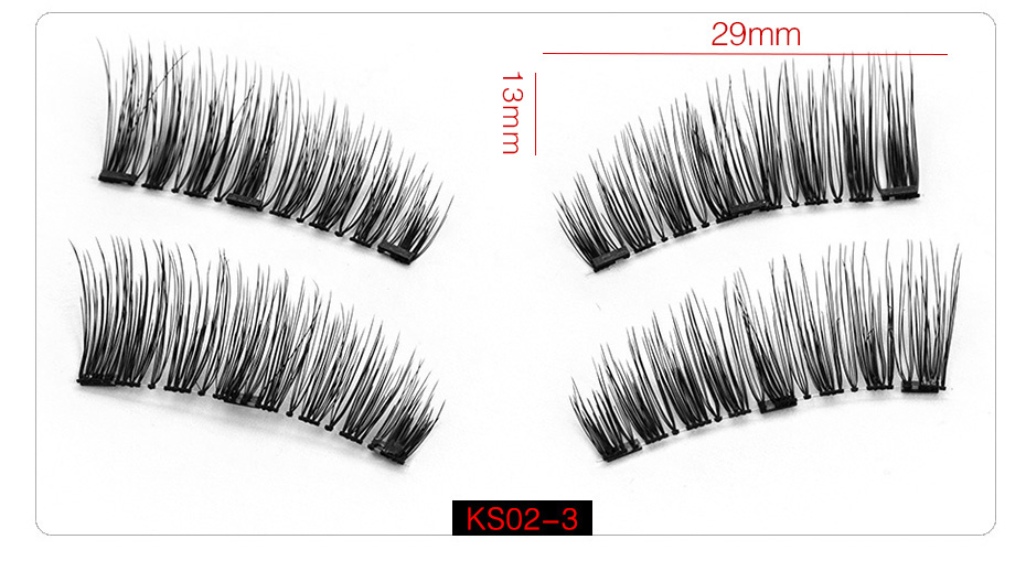 3d Magnetic False Eyelashes (8)