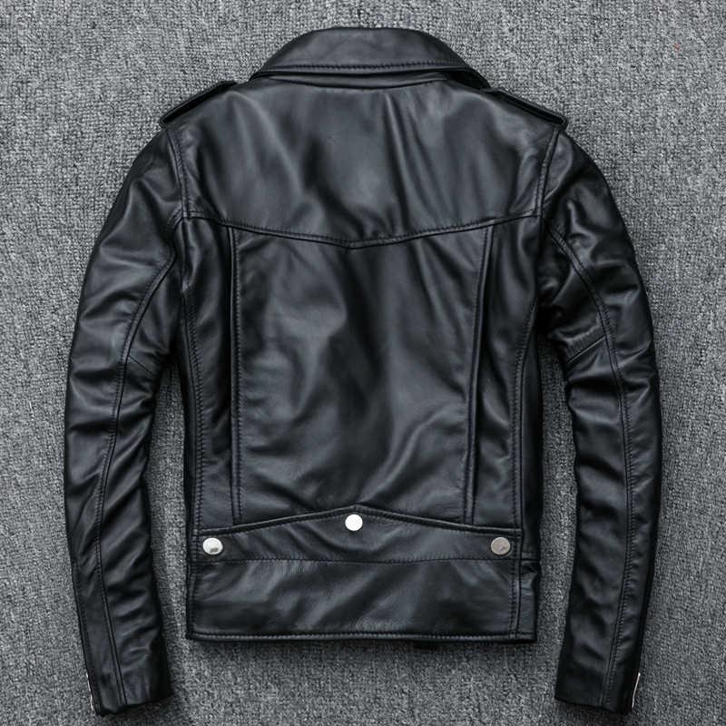 Vrouwen Plus Size Schapenvacht Lederen Jassen Herfst Slanke Motorfiets Biker Jacket Dames Real Leather Jassen Chaqueta Mujer