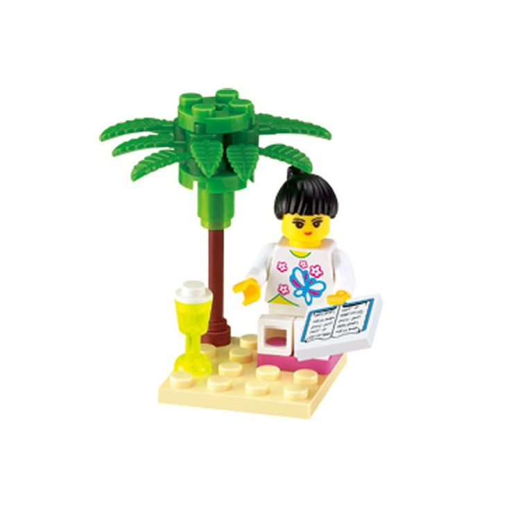 1208 Enlighten Building Block Set 3D Construction Brick Toys Educational Block toy for Children