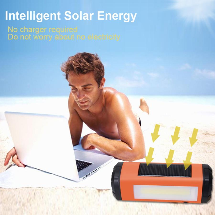 AIDISITE Solar Bluetooth високоговорител - Преносимо аудио и видео - Снимка 3