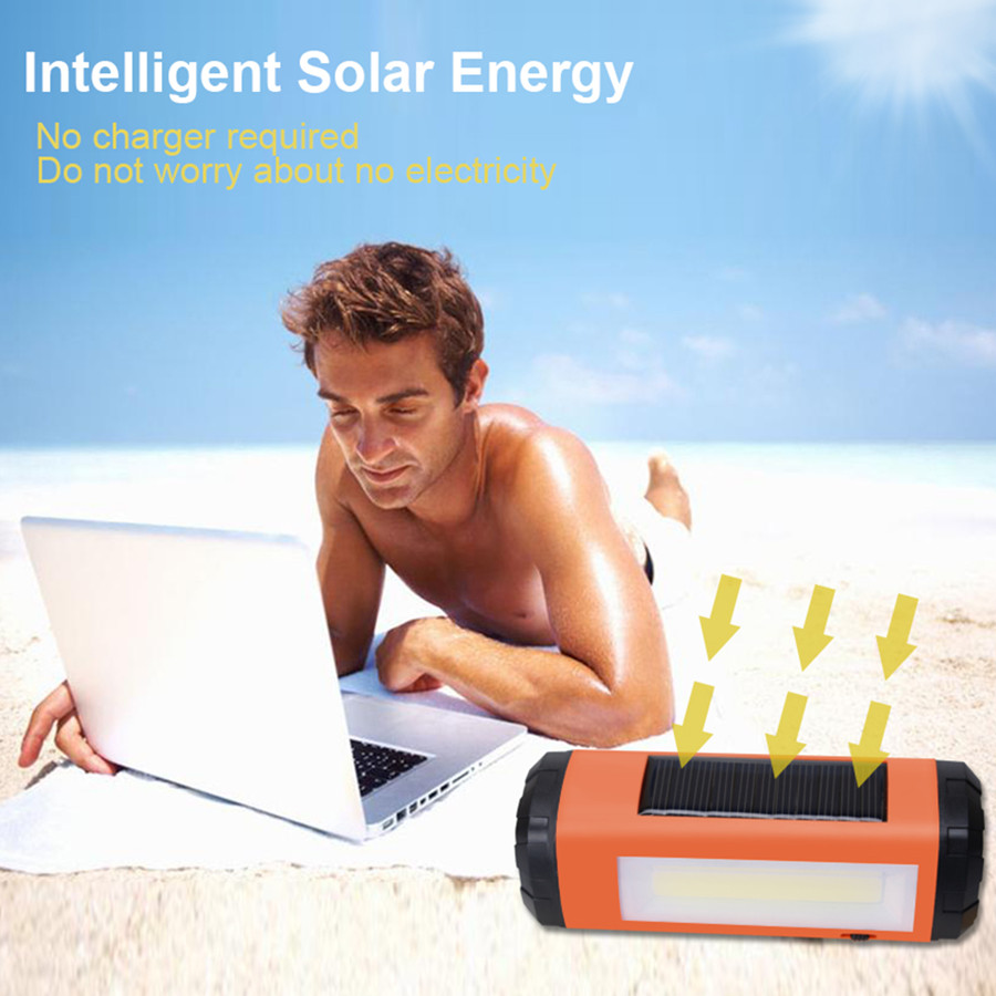AIDISITE Ηλιακός ηχείο Bluetooth Ασύρματο LED - Φορητό ήχο και βίντεο - Φωτογραφία 3