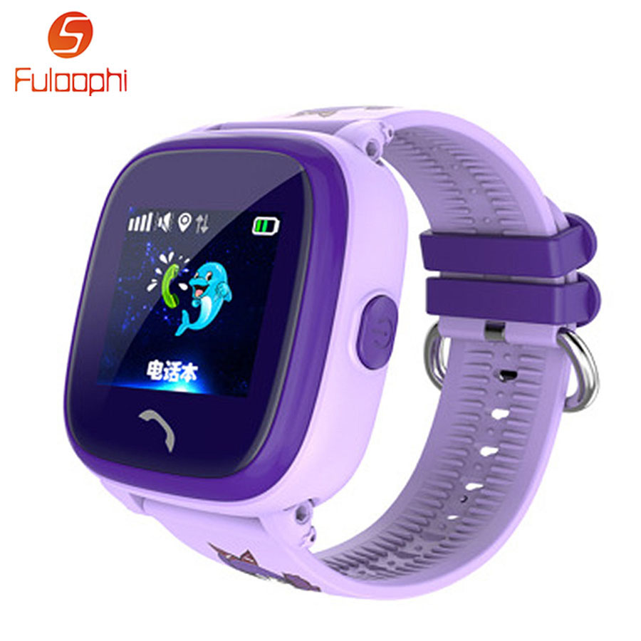 DF25 Child GPS Smart Watch SOS Calling Baby Anti Lost Monitor Watch For IOS Android Smartwatch Waterproof Children Wristwatch