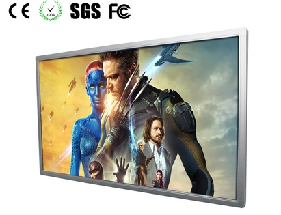 Cctv-Monitor Touch-Screen 55-65inch Led Wifi Lcd HD Pc Tv-Gaming-Display Electronic Built