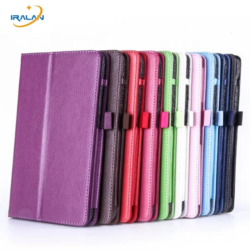 New Litchi pattern PU Leather Case For LG G pad 3 8 0 V525 V521 V520