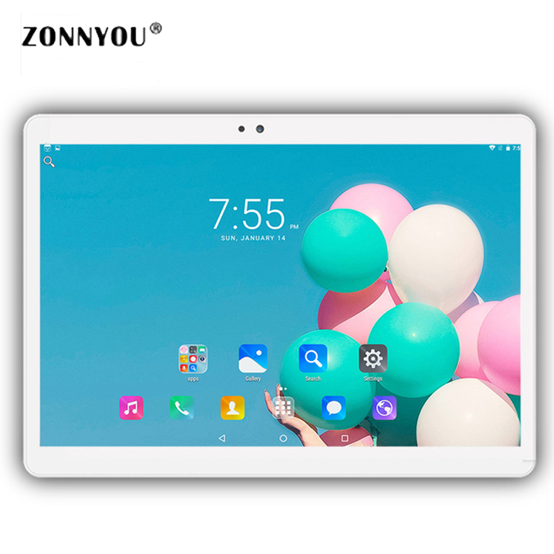 10.1 inch Tablets PC Android 6.0 IPS 1920*1080 HD 3G Call Octa Core 4GB RAM 32GB Dual SIM 5.0MP GPS Bluetooth Wi-Fi Tablet PC roocase netbook carrying bag for acer cromia ac761 11 6 inch hd chromebook wi fi 3g deluxe series