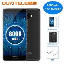 Купить Oukitel K8000 5,5 «HD MTK6750T Octa Core Android 7,0 4 ГБ Оперативная память 64 ГБ Встроенная память 16.0MP камеры заднего 8000 мАч Быстрая зарядка 4 г смартфон