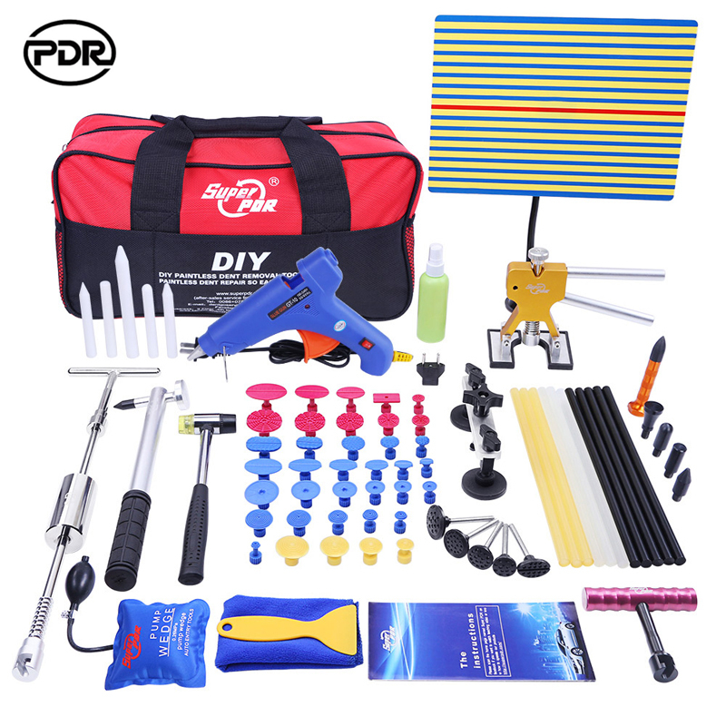 PDR Paintless Dent Repair Tools Car Puller Dent Removal Hand Tool Set Choose Removal Tool Kit
