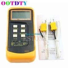 Big discount Dual 2 Probe Sensor K-Type Digital Thermometer Thermocouple 1300 Degree MY9_25