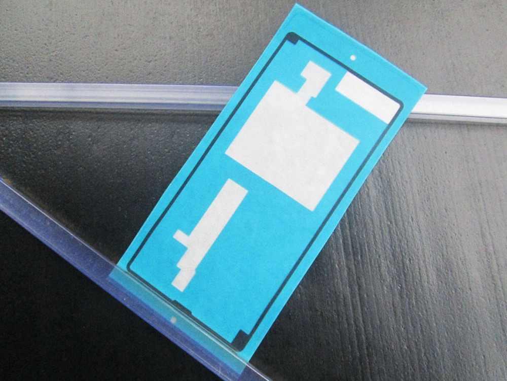 Blingird 2 قطع شريط لاصق الغراء اللاصق الجديد لسوني اريكسون m5 E5603 E5606 E5653 m5 حالة البطارية عودة الإسكان غطاء الباب