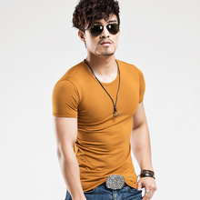 2018 MRMT Brand Clothing 10 colors V neck Men's T Shirt Men Fashion Tshirts Fitness Casual For Male T-shirt S-5XL Free Shipping(China)