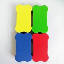 2 шт. мини-кости EVA губка Магнитный ластик для доски сухое стирание доска очиститель маркера мел доска протирать школы офисные принадлежности