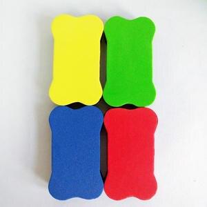 Eraser Marker-Cleaner Whiteboard Chalk Sponge Office-Supplie Magnetic Bone-Eva Mini Wipe