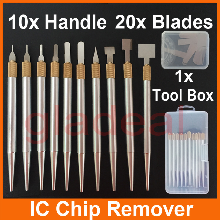 где купить W101 IC Chip Repair Thin Blade Tool CPU Remover Burin To Remove iPhone Processors NAND Flash Mainboard For BGA Product по лучшей цене