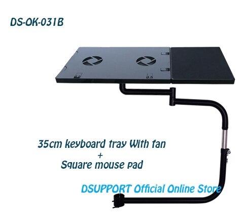 Ok031 Многофункциональный Полный стул движения зажима ноутбука стол держатель с вентилятор USB + квадратный Мышь pad + стул рукой зажимая мышь pad