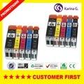 10X Replacement Ink Cartridges For Canon PGI-PG470BK  CLI-471 PIXMA MG 5740 MG6840 PGI-470  Printer  Cartridge