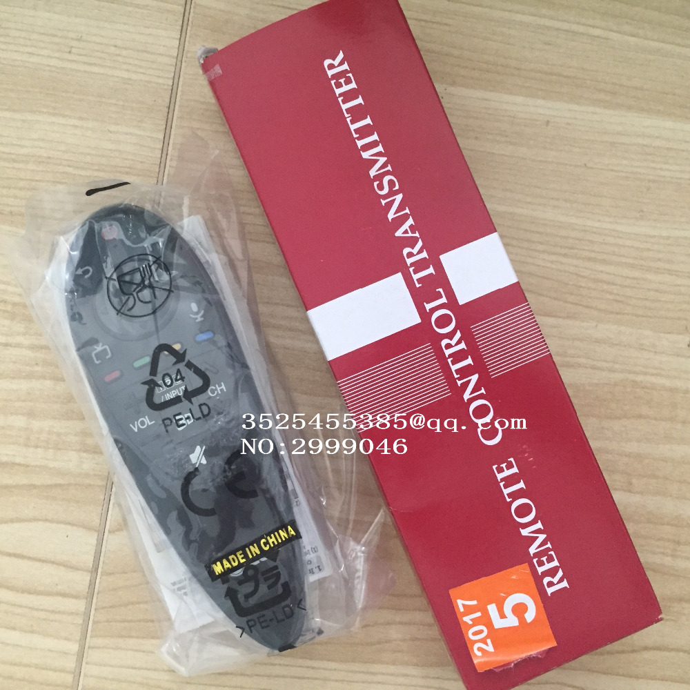 Free shipping Brand new Original remote control REPLACEMENT AN-MR500 AN-MR500G For LG smart TV Series English version twindoor replacement remote control 433mhz free shipping