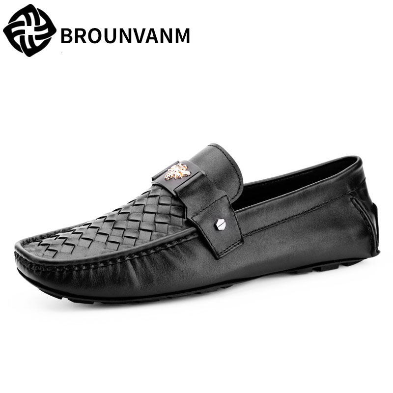 A song Doug shoes online autumn shoes pedal set foot men shoes breathable leather lazy driving loafer кошелек write a song
