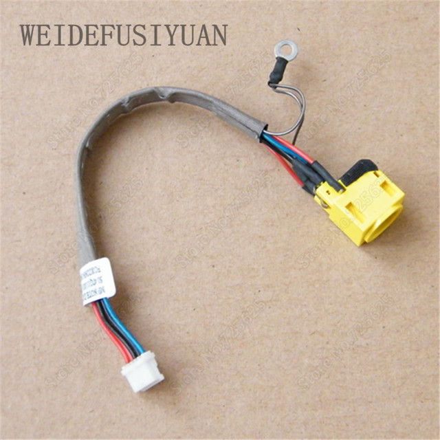 10pieces/lot DC Power Jack Socket Connector Wire Harness for Lenovo on dc wire motor, dc wire plug, dc wire lights, dc wire gauge, dc wire cable, dc wire connectors, dc wire computer,